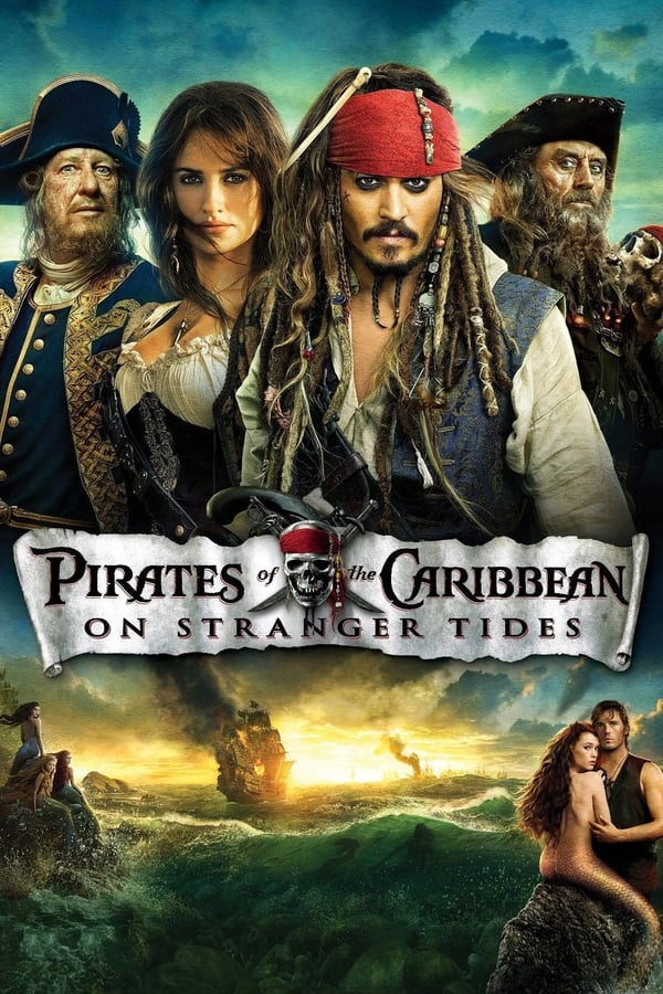 POTC On Stranger Tides Movie Poster