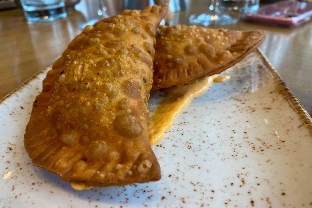 Sapphire Falls Amatista Cookhouse House Made Empanadas