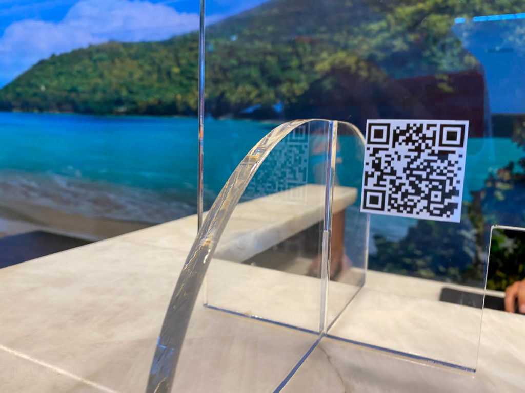 Sapphire Falls Check In QR Code