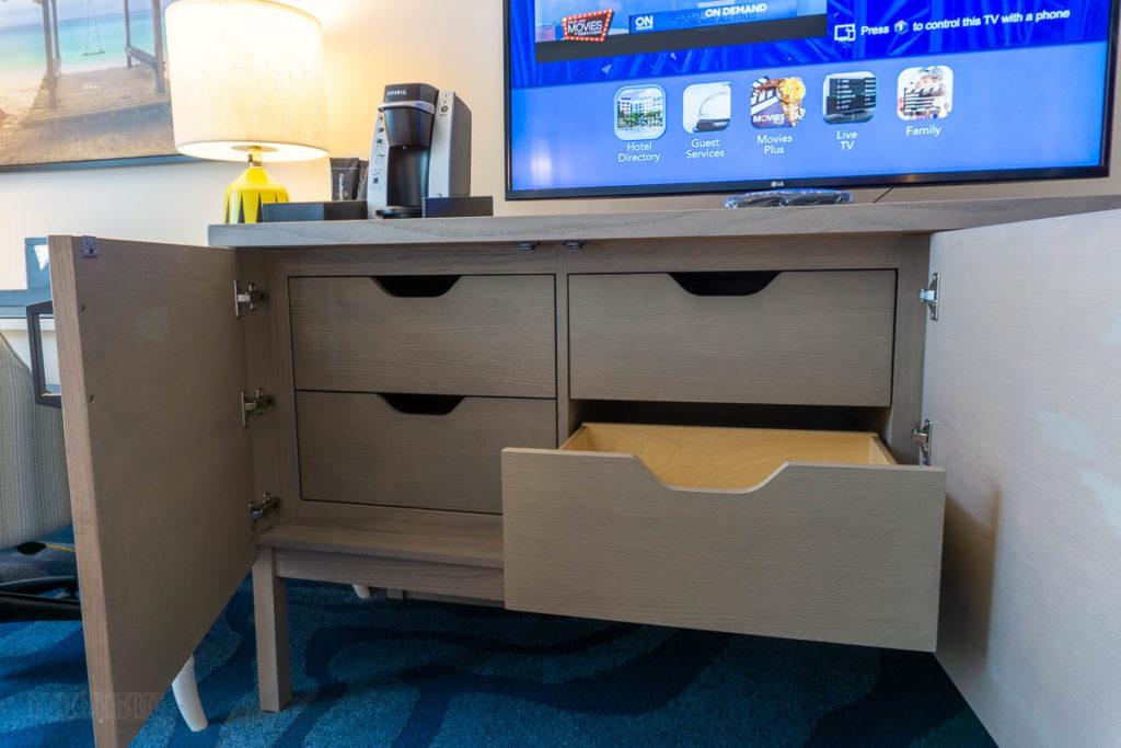 Sapphire Falls Kids Suite Dresser Storage