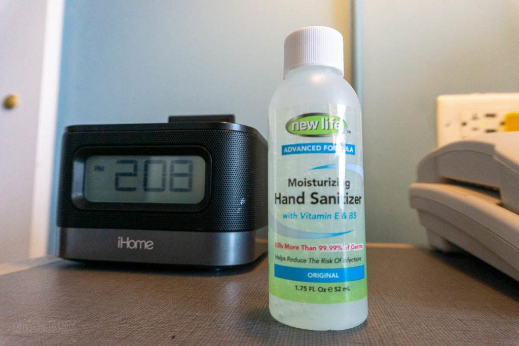 Sapphire Falls Kids Suite IPhone Clock Radio Hand Sanitizer