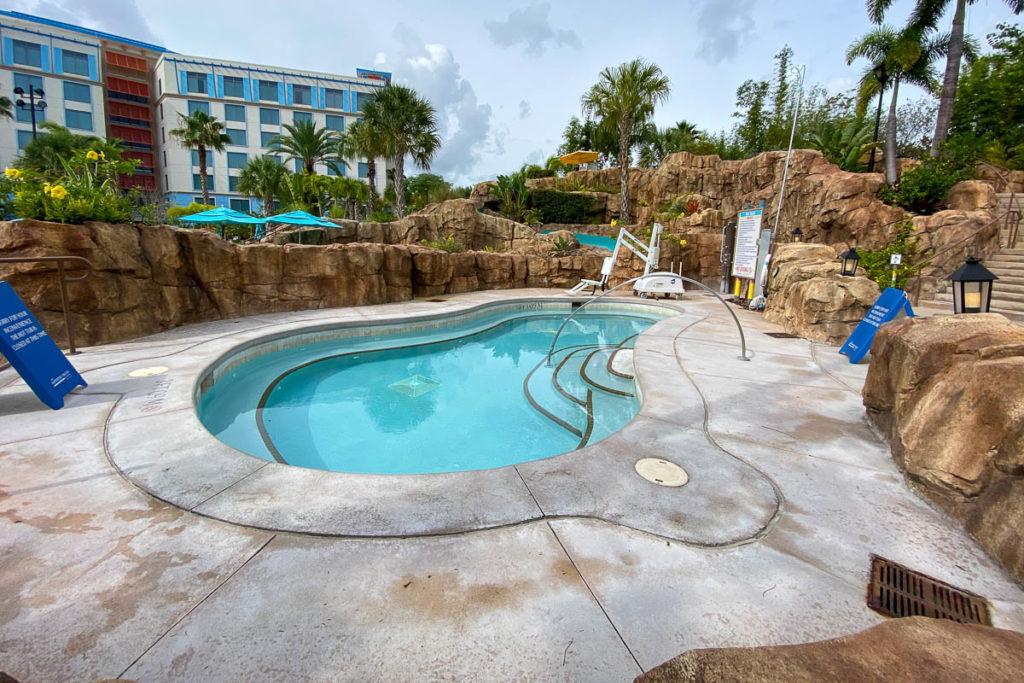 Sapphire Falls Pool Hot Tub