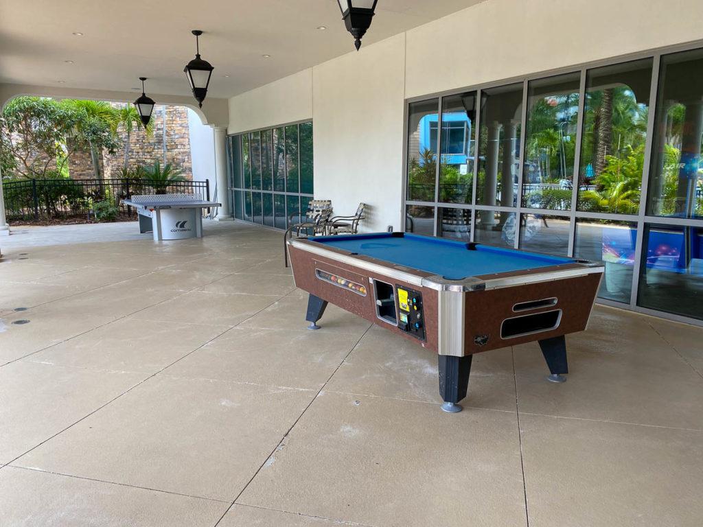 Sapphire Falls Pool Pool Table