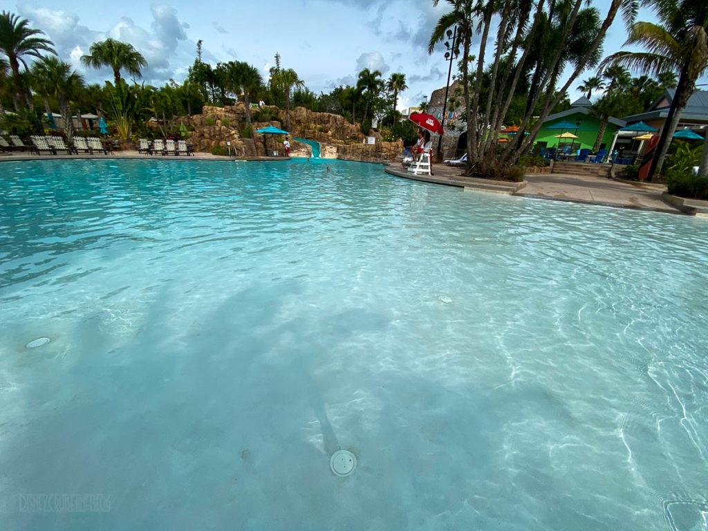 Sapphire Falls Pool Sandbar Walkway