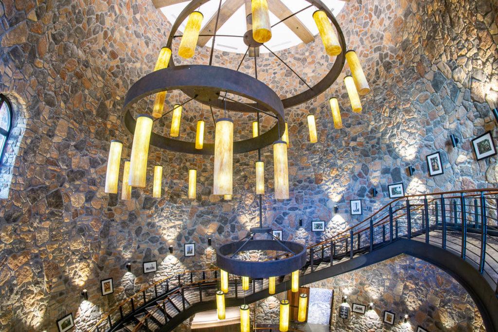 Sapphire Falls Sugar Mill Spiral Staircase