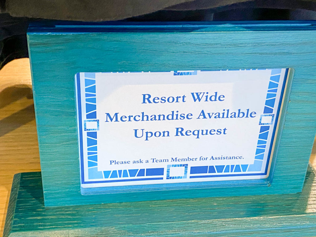 Sapphire Falls Universal Studios Store Resort Merchandise
