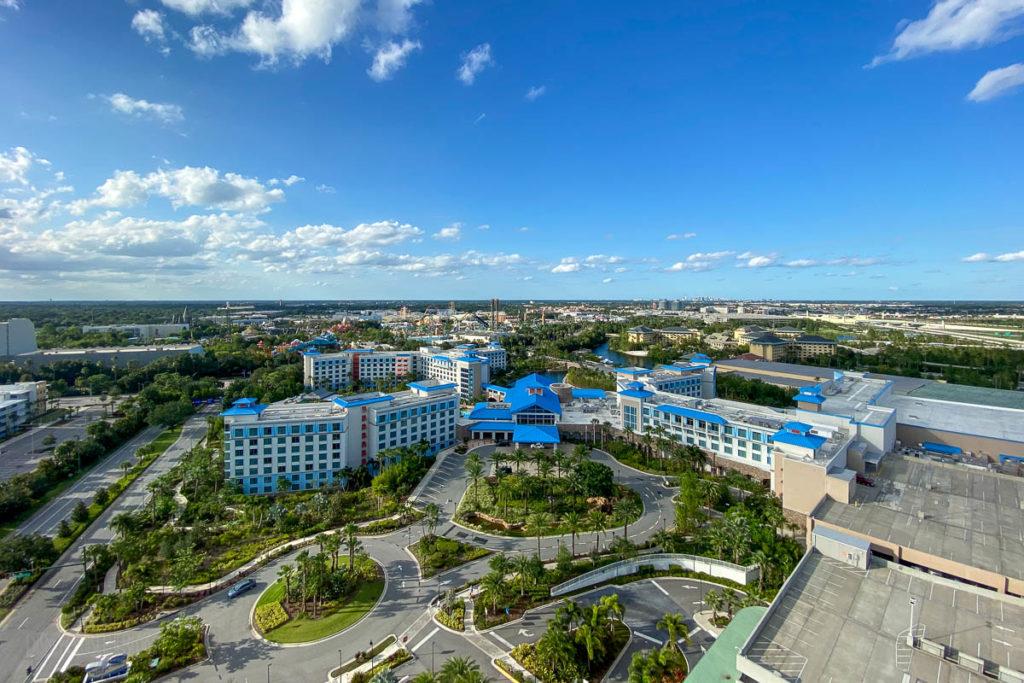 Sapphire Falls Universal Studios From Adventura Hotel