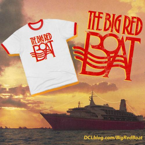 Big Red Boat TeePublic Promo