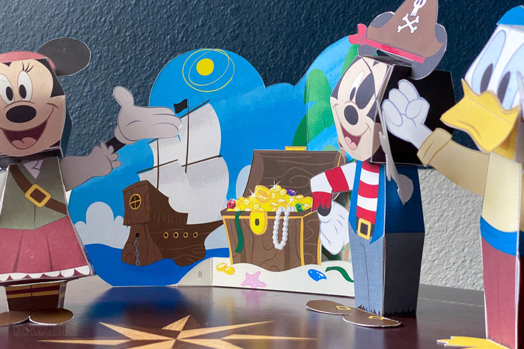 DCL 3D Paper Craft Pirates
