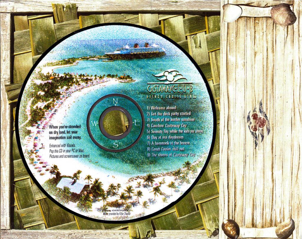 DCL Castaway Club Shoreside Survival Kit CD