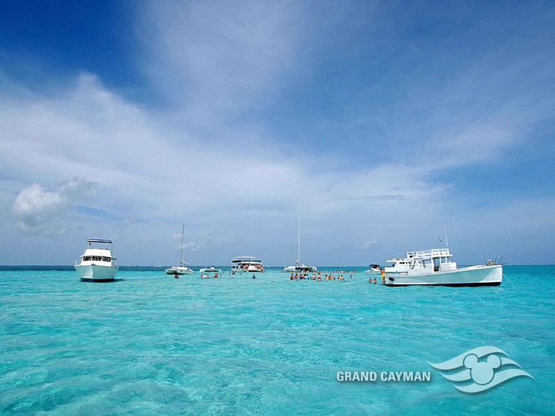 DCL Castaway Club Shoreside Survival Kit Screen Saver 15 Grand Cayman