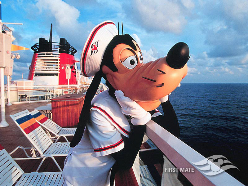 DCL Castaway Club Shoreside Survival Kit Screen Saver 4 First Mate Goofy