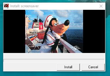DCL Castaway Club Shoreside Survival Kit Screen Saver Windows Installer