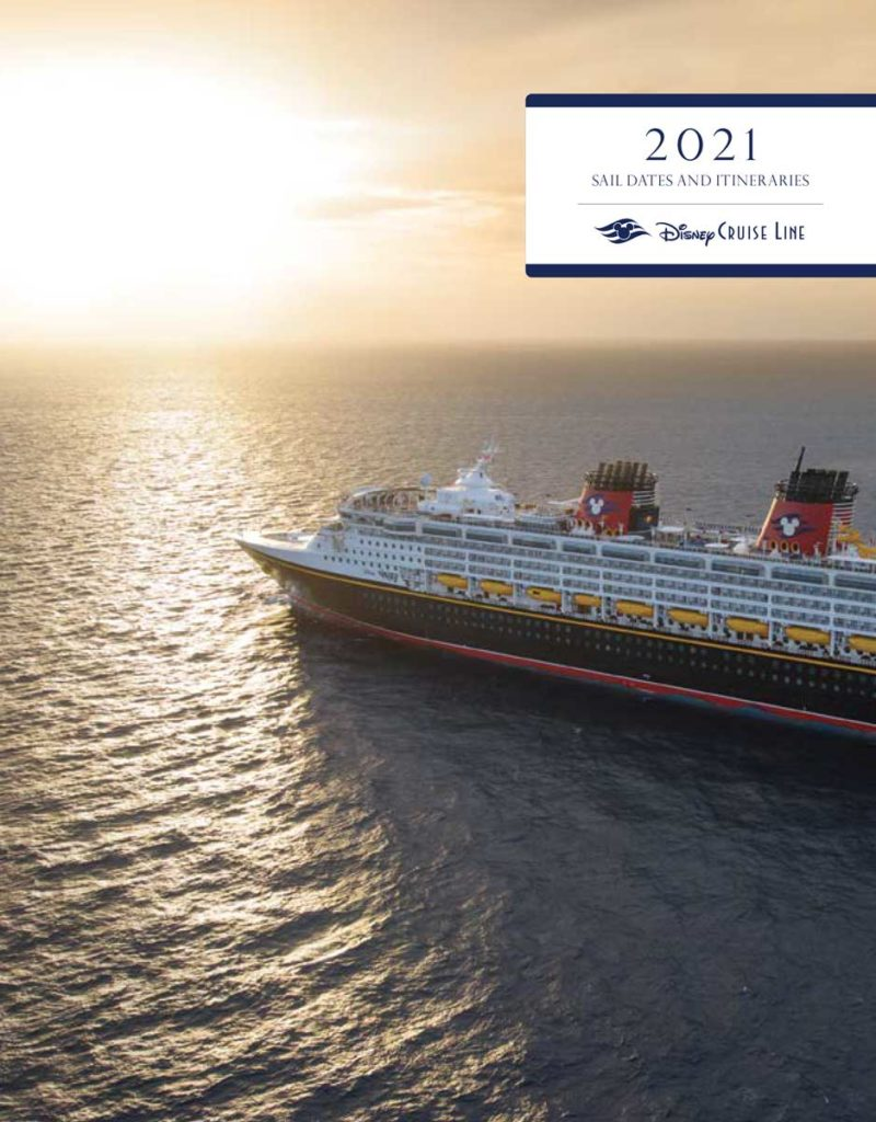 DCL Itinerary Brochure July 2020 Fall 2021 Dates