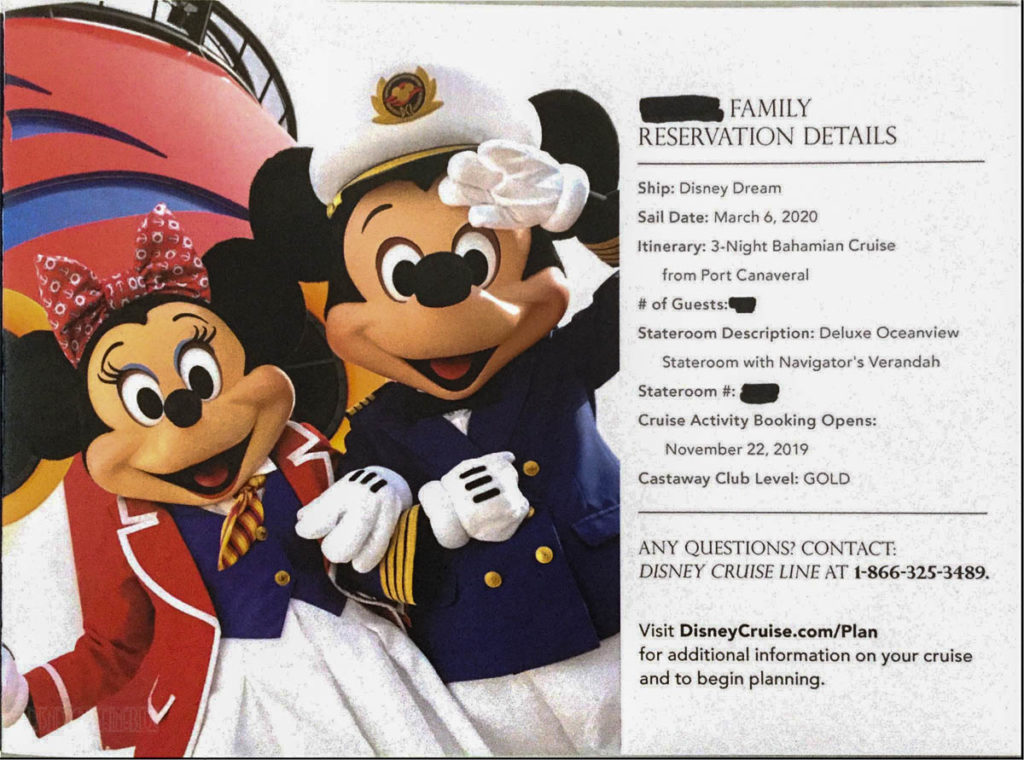 DCL Pre Arrival Booklet Dream 3