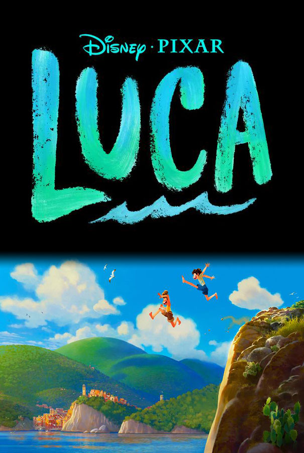 Luca Pixar Movie Poster