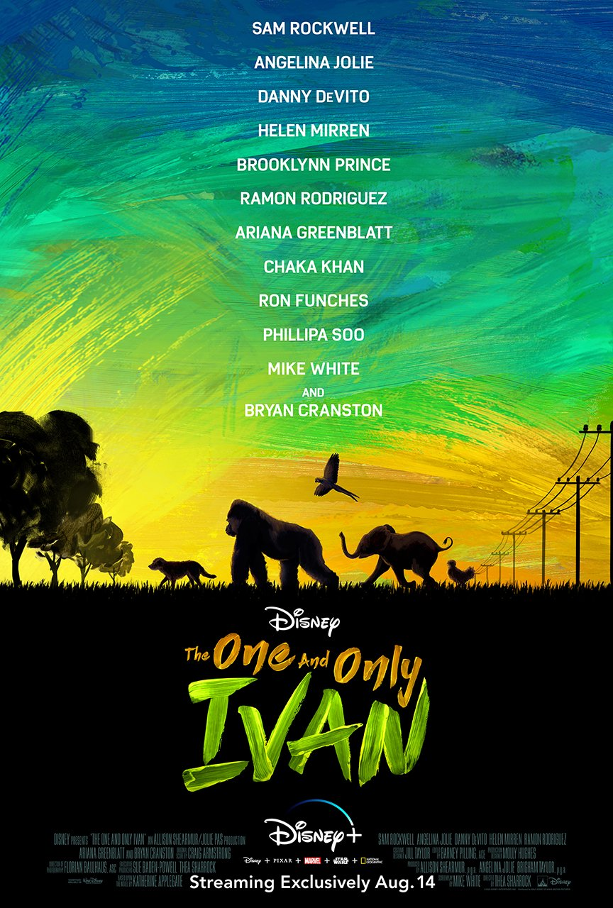One And Only Ivan Movie Poster
