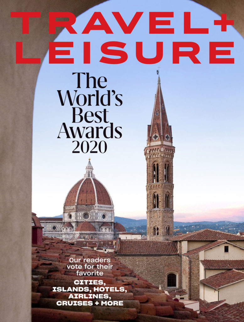 Travel Leisure Worlds Best Awards 2020 August Cover
