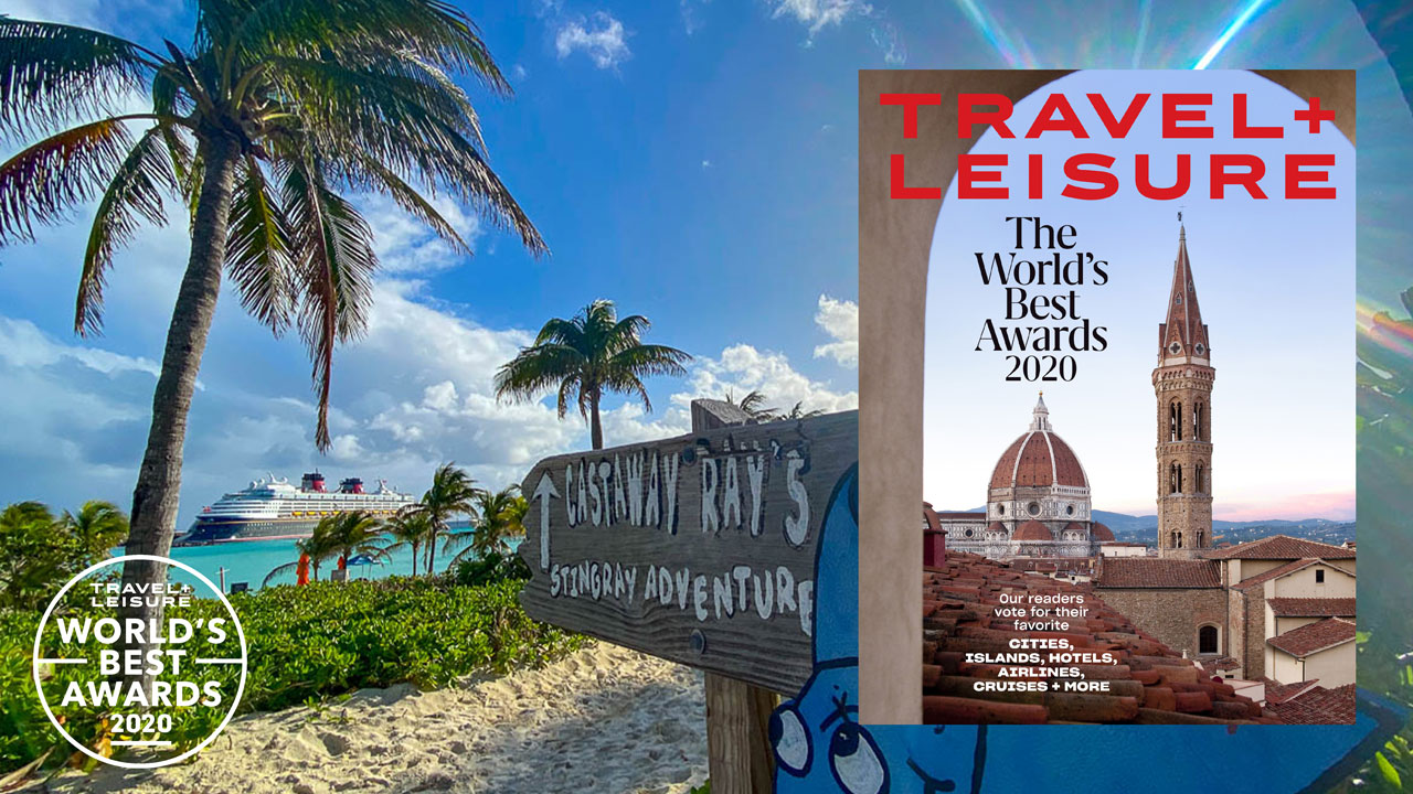 Travel Leisure Worlds Best Awards 2020 Disney Magic Castaway Cay