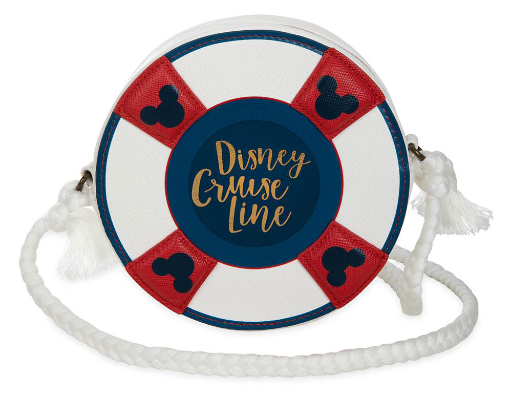 ShopDisney Disney Cruise Line Life Preserver Crossbody Bag