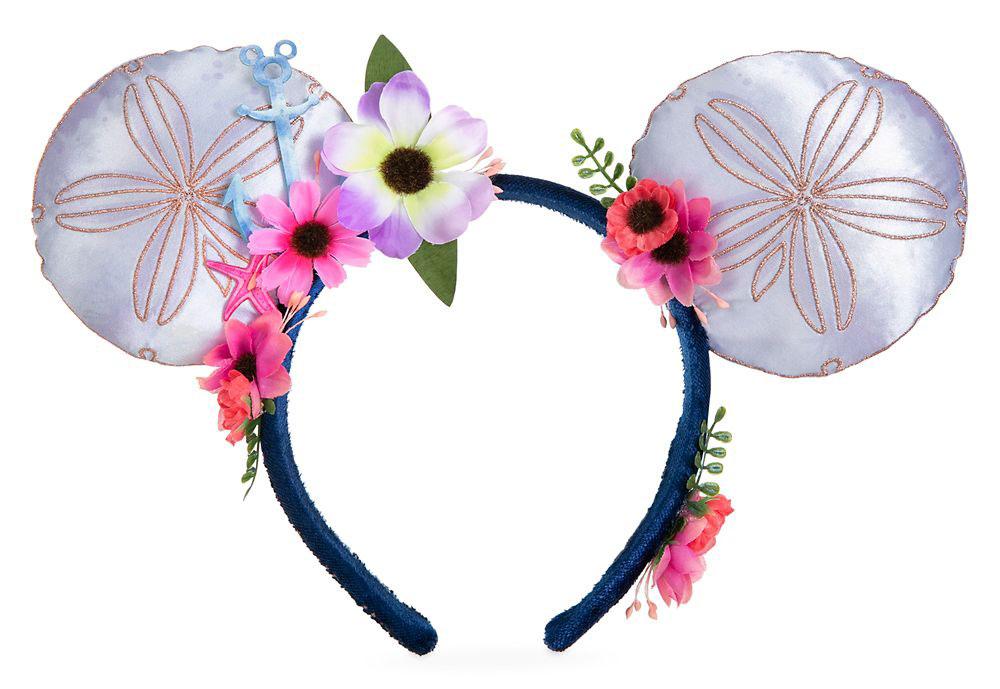 ShopDisney Mickey Mouse Sand Dollar Disney Cruise Line Ear Headband