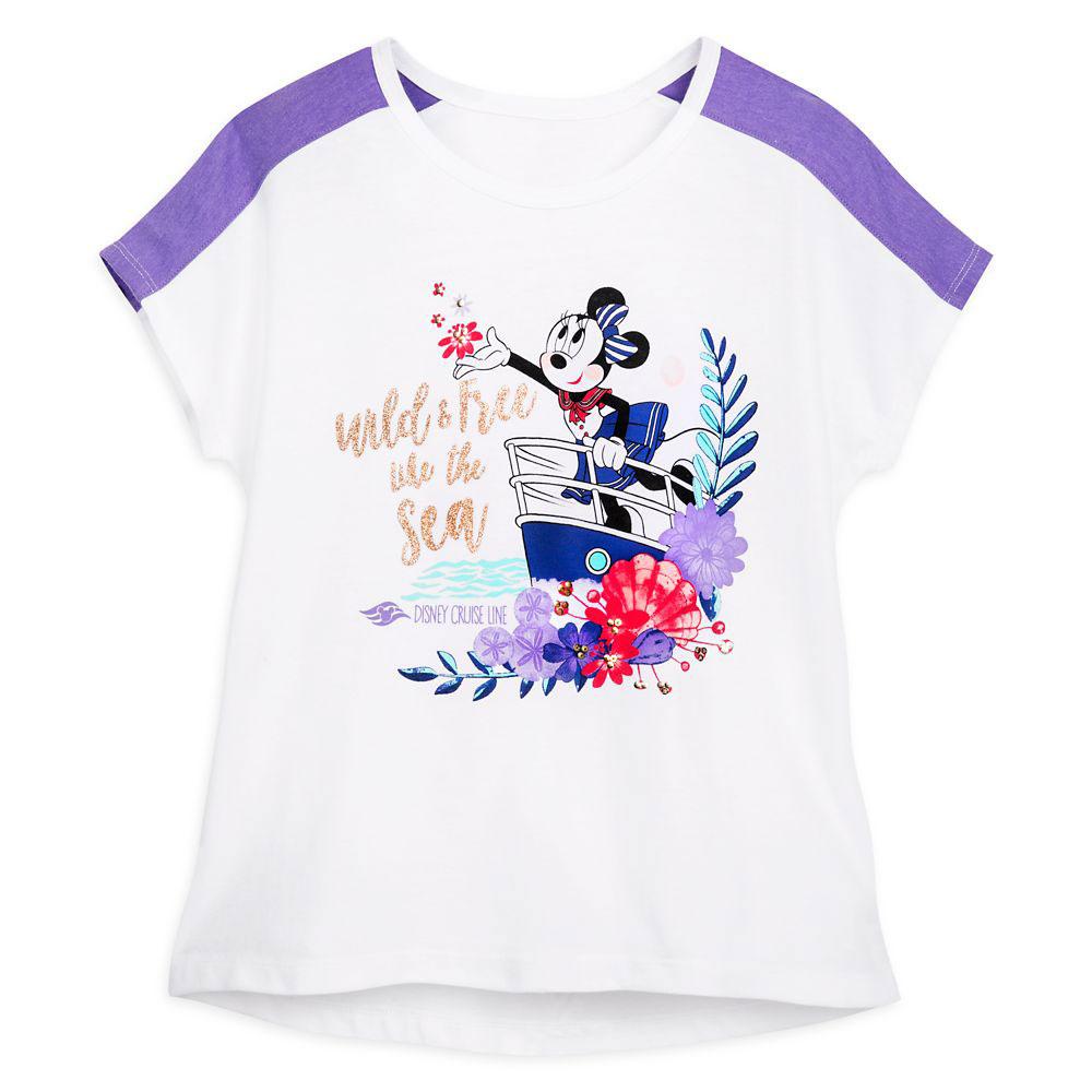 ShopDisney Minnie Mouse Wild Free T Shirt Women Disney Cruise Line