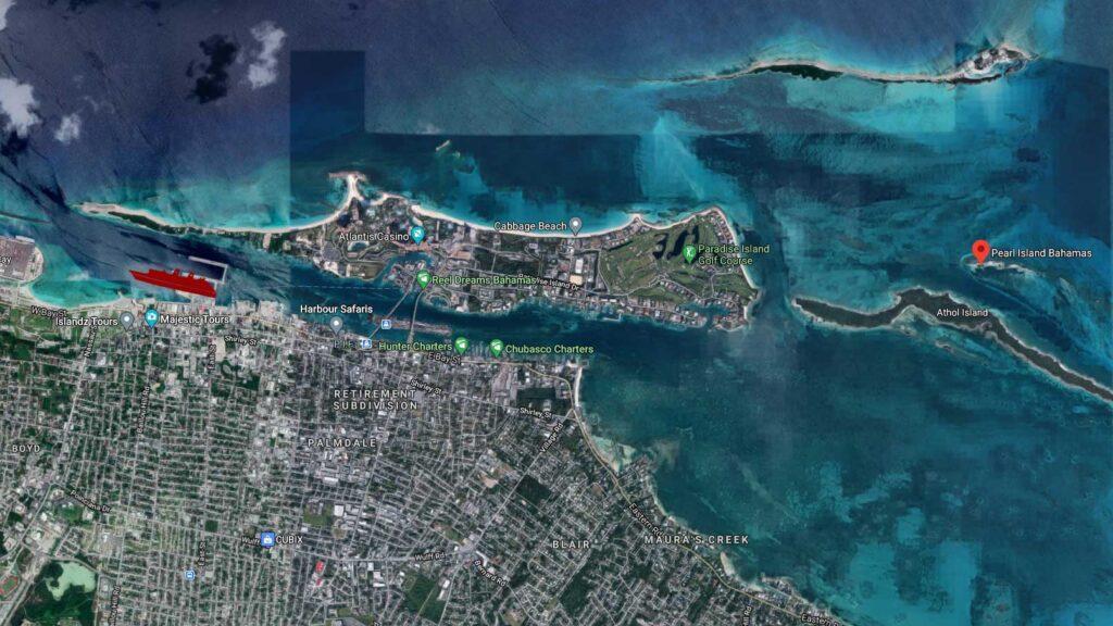Pearl Island Bahamas Location