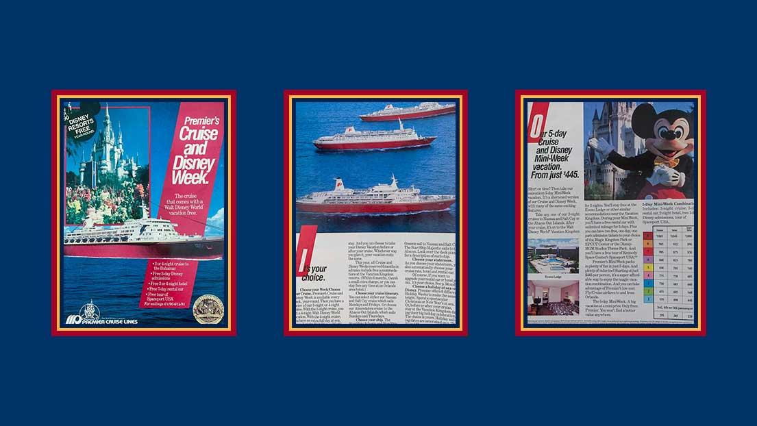 Premier Cruise Line Booklet 1990