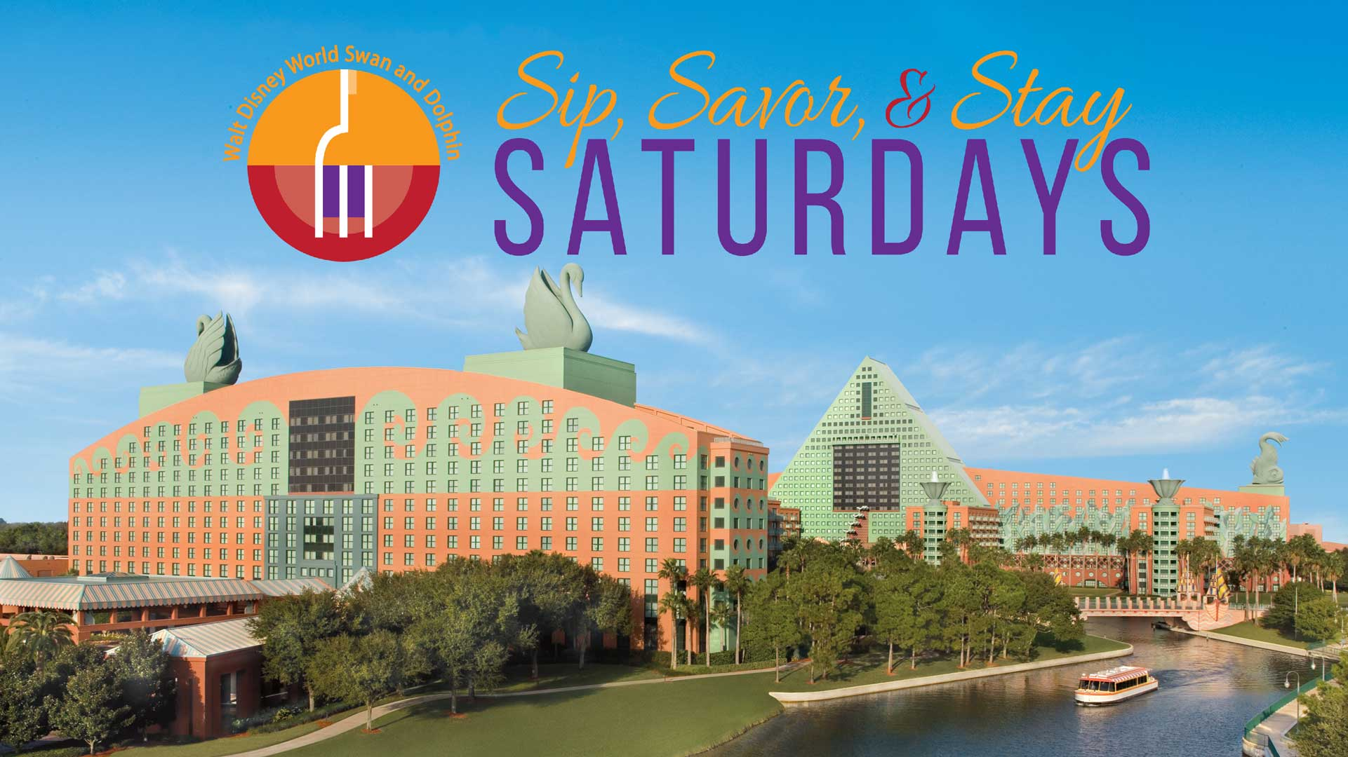 Sip Savor Stay WDW Swan And Dolphin Resort