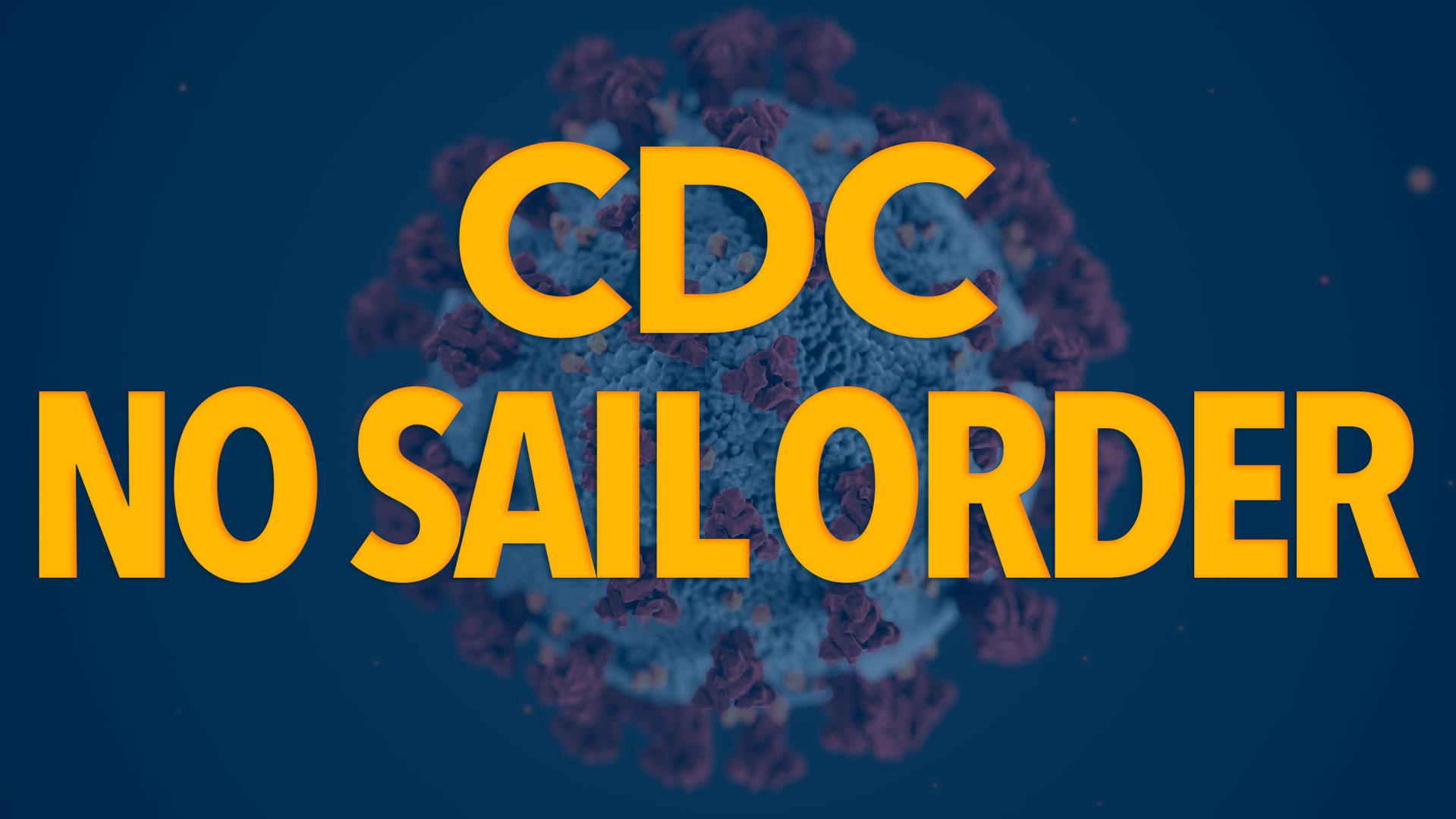 CDC No Sail Order
