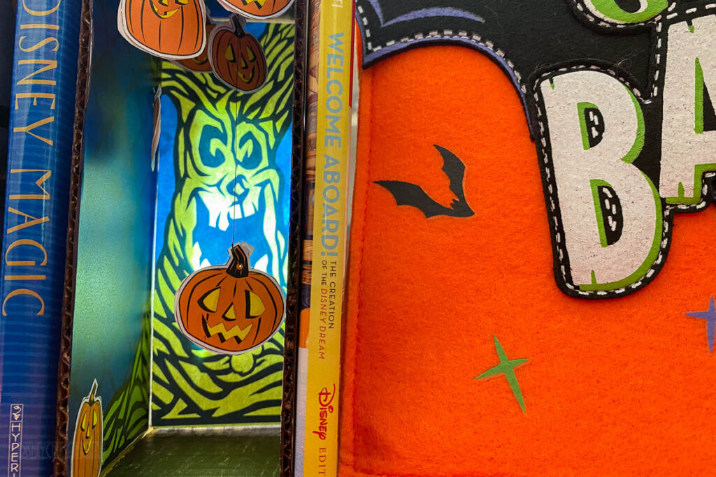 DCL DIY Halloween Tree Book Nook