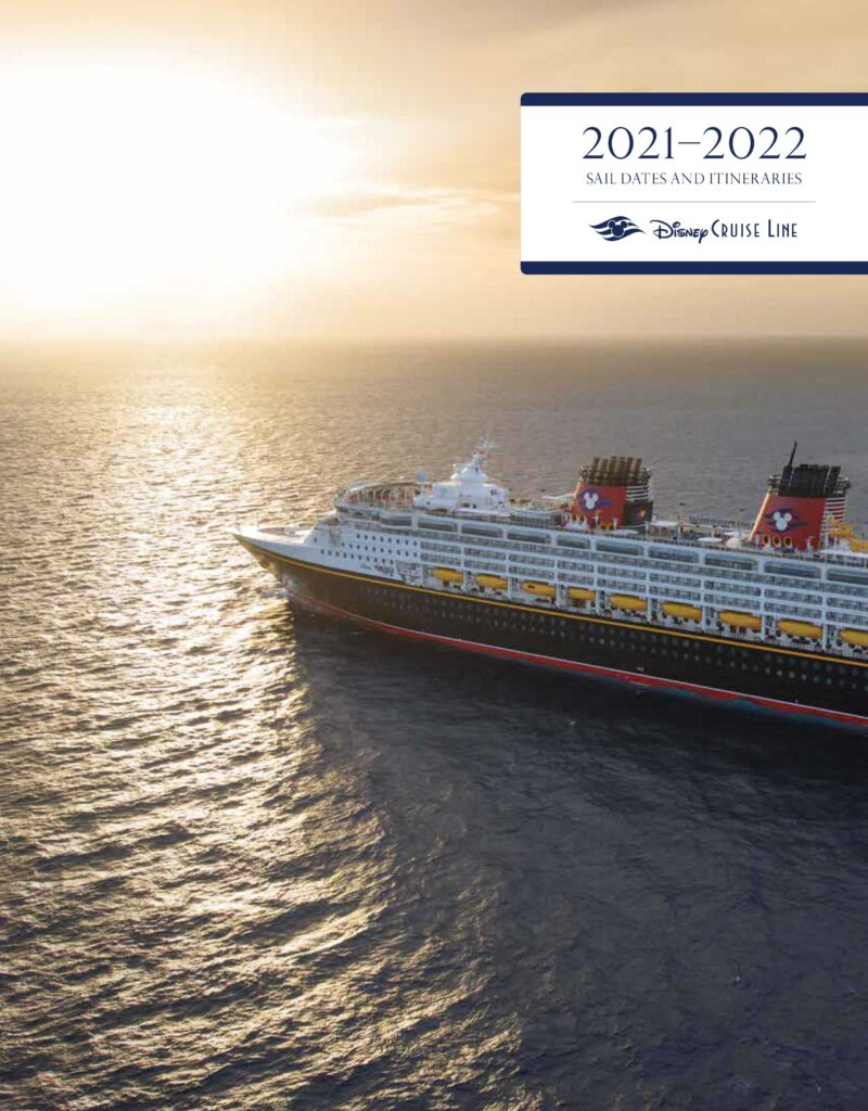 DCL Itinerary Brochure October 2020 2021 Early 2022 Dates