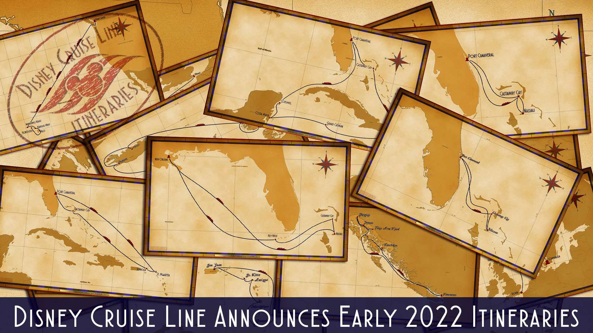 DCL Itinerary Release Early 2022