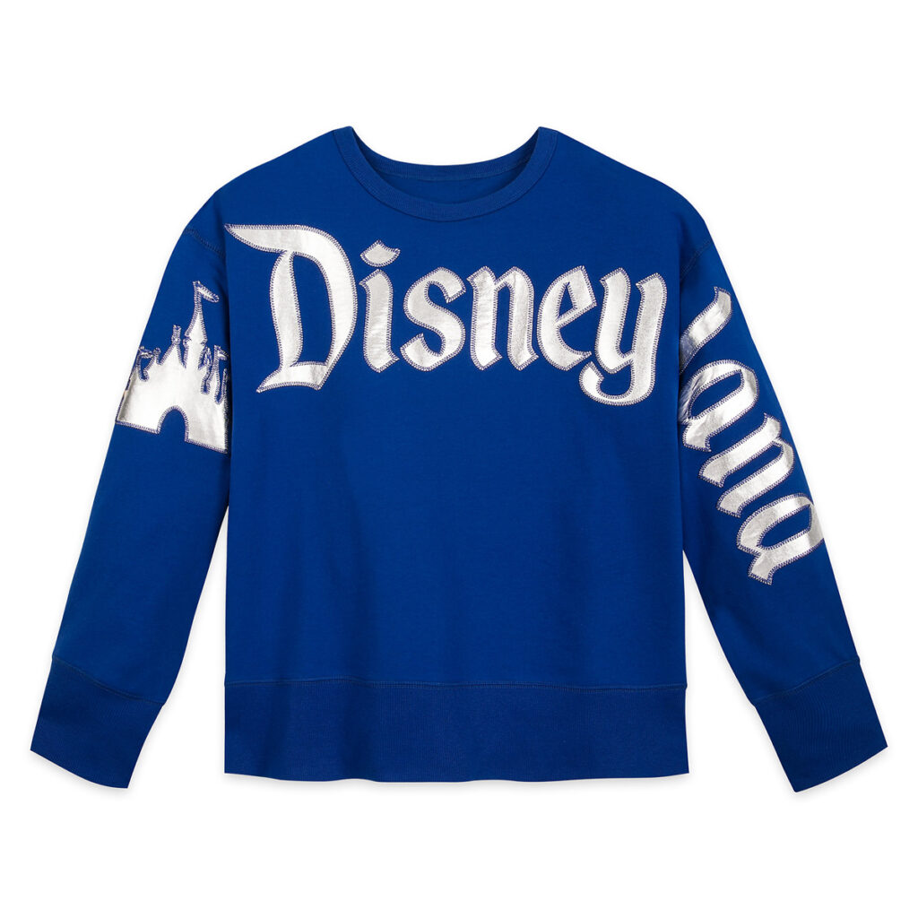 Disneyland Pullover Top For Women – Wishes Come True Blue