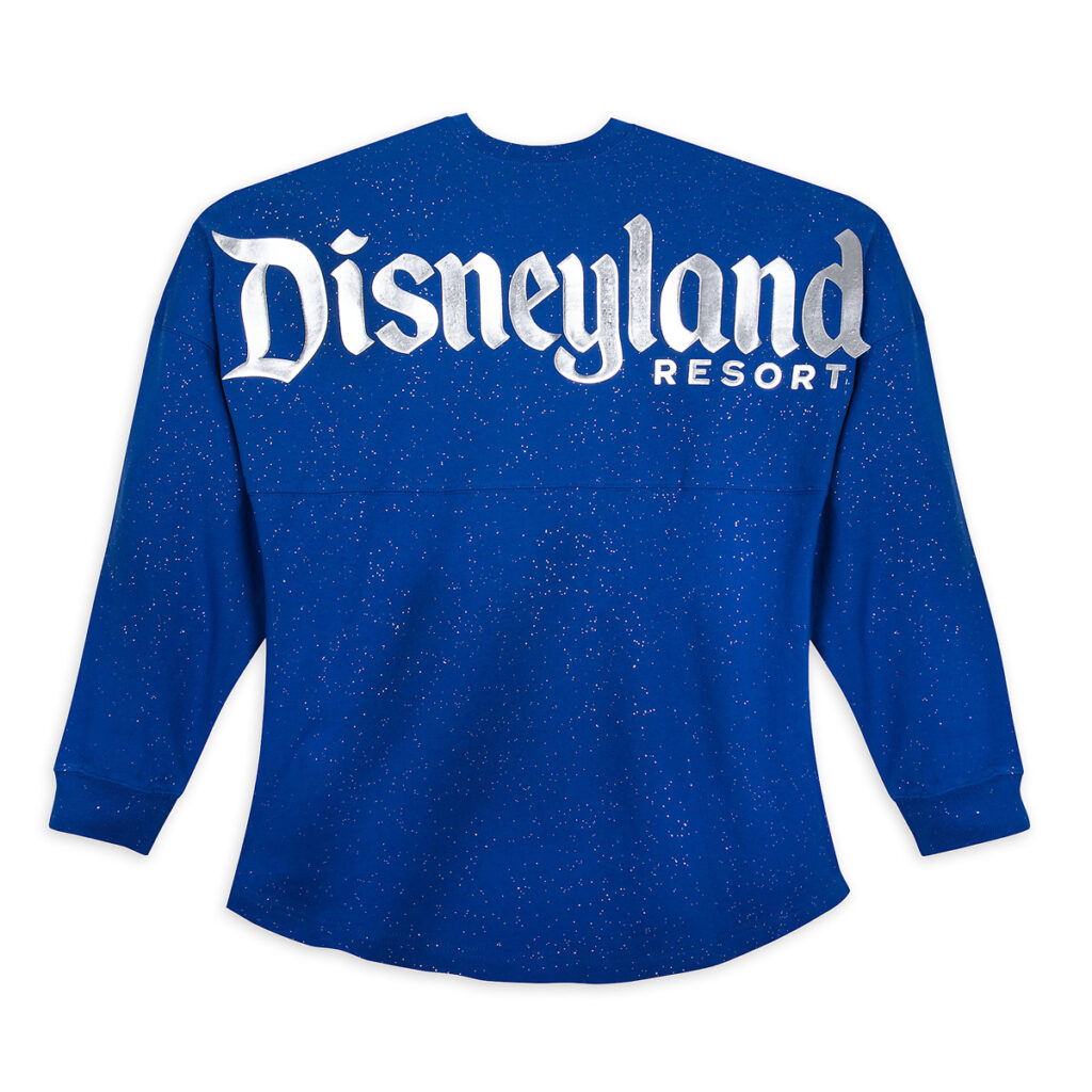 Disneyland Spirit Jersey For Adults – Wishes Come True Blue Back