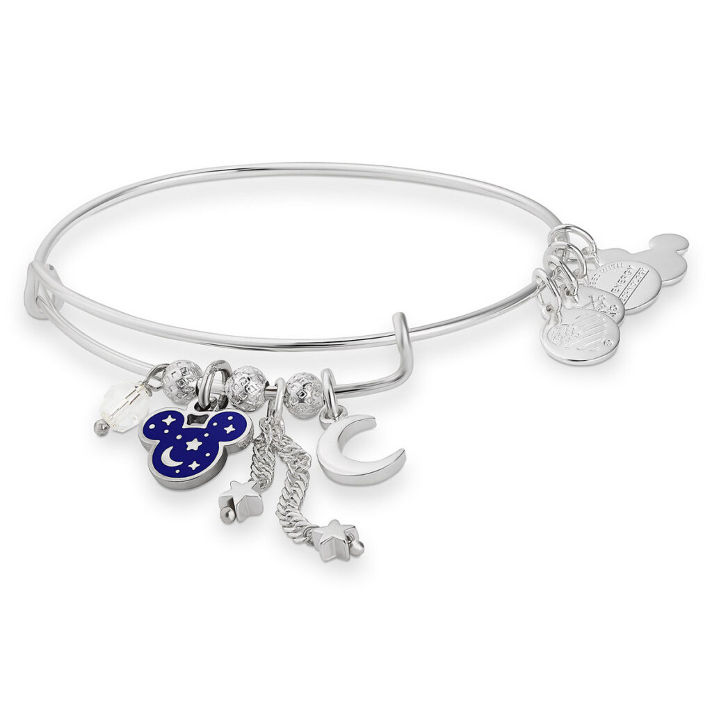 Mickey Mouse Bangle By Alex And Ani – Wishes Come True Blue
