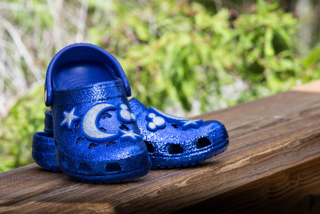 Mickey Mouse Clogs For Adults By Crocs – Wishes Come True Blue 3