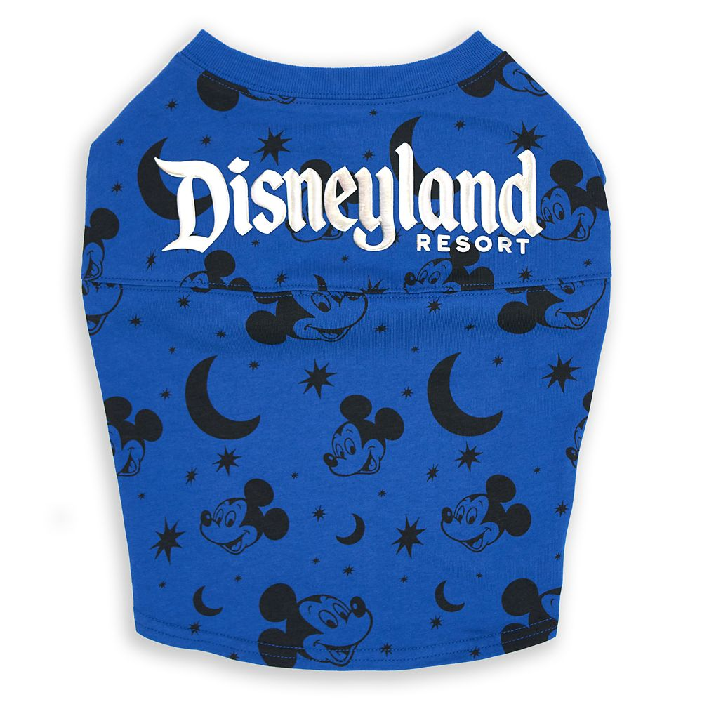 Mickey Mouse Spirit Jersey For Dogs – Disneyland – Wishes Come True Blue 1
