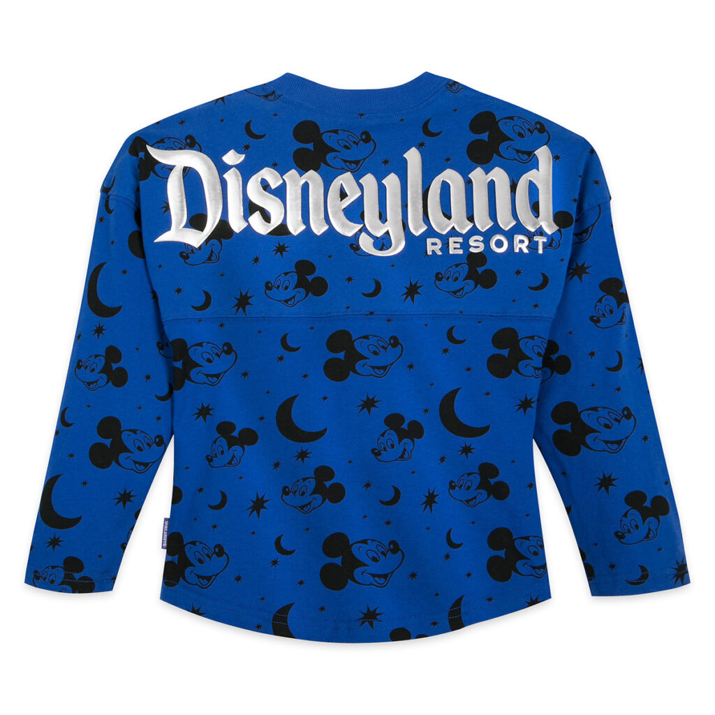 Mickey Mouse Spirit Jersey For Kids – Disneyland Resort – Wishes Come True Blue Back