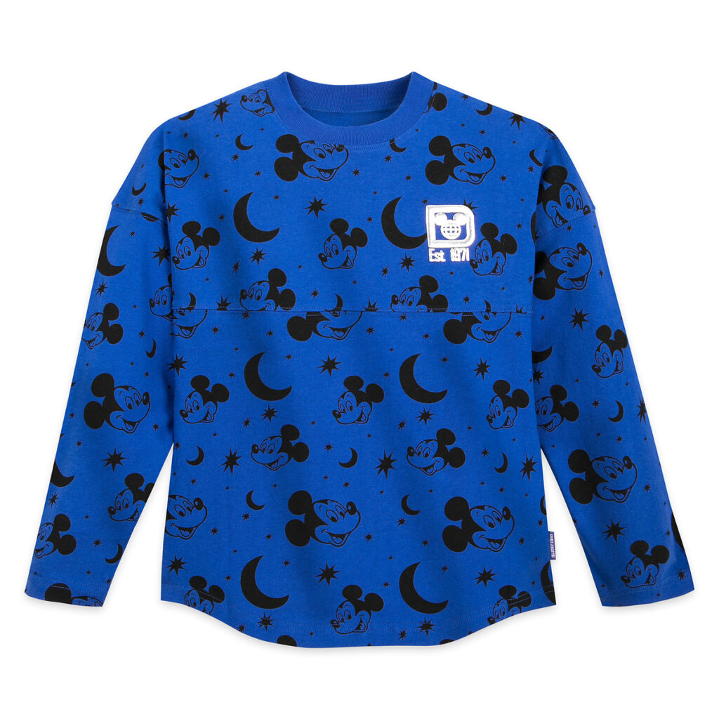 Mickey Mouse Spirit Jersey For Kids – Walt Disney World – Wishes Come True Blue Front