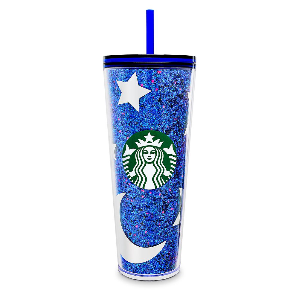 Mickey Mouse Tumbler With Straw By Starbucks – Disneyland – Wishes Come True Blue 2