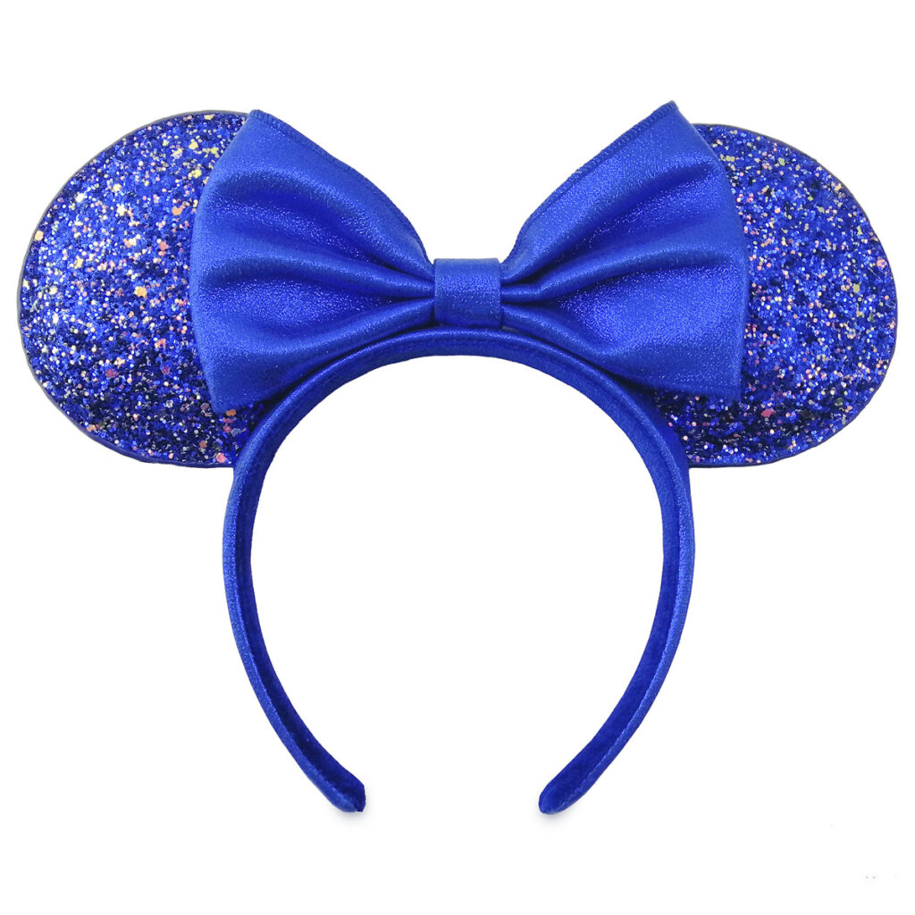 Minnie Mouse Ear Headband – Wishes Come True Blue 1