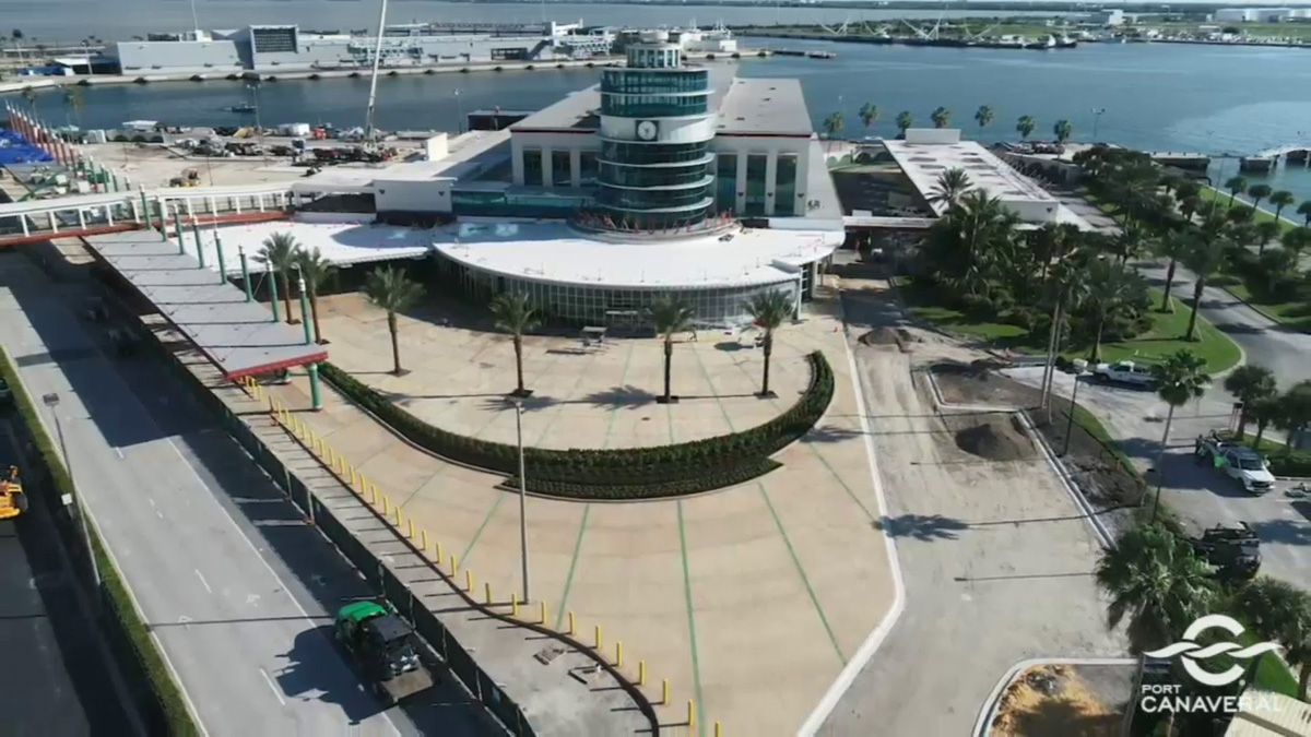 Port Canaveral CT8 Drone Terminal Overview