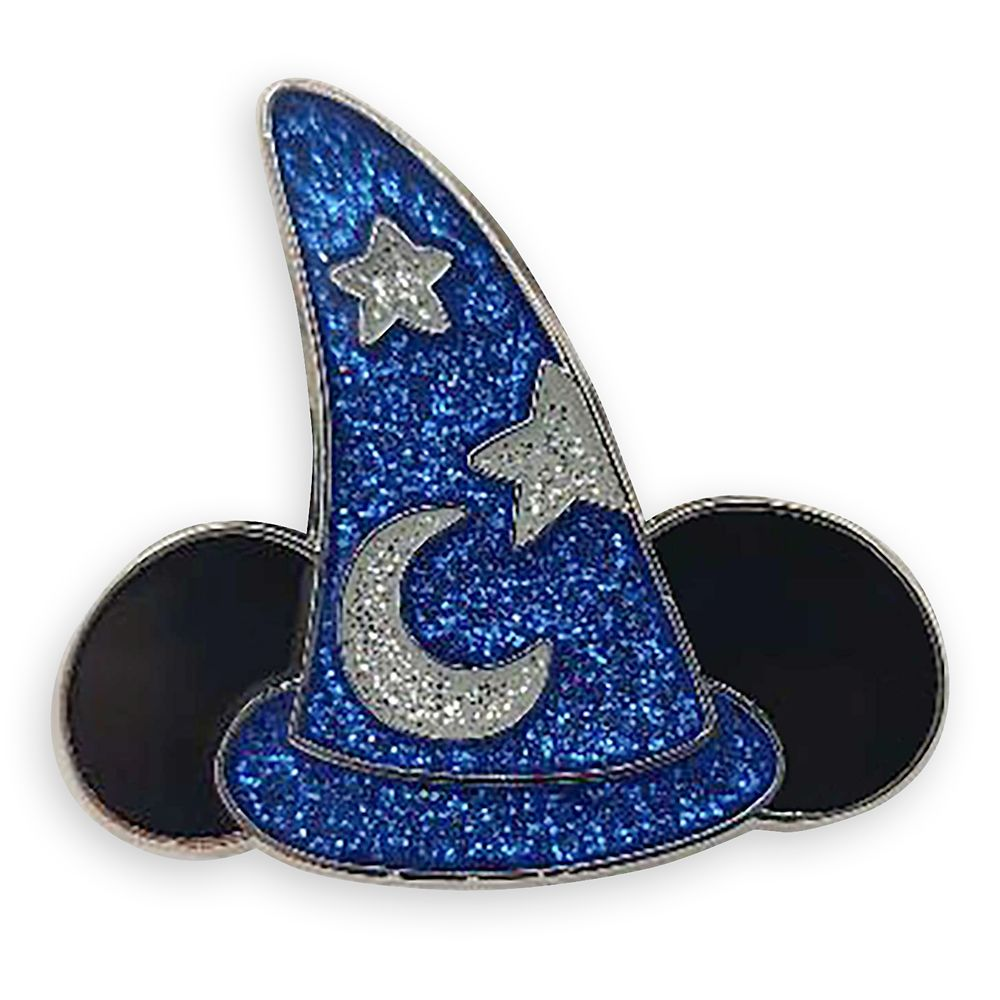 Sorcerer Hat Pin – Fantasia – Wishes Come True Blue – Limited Release