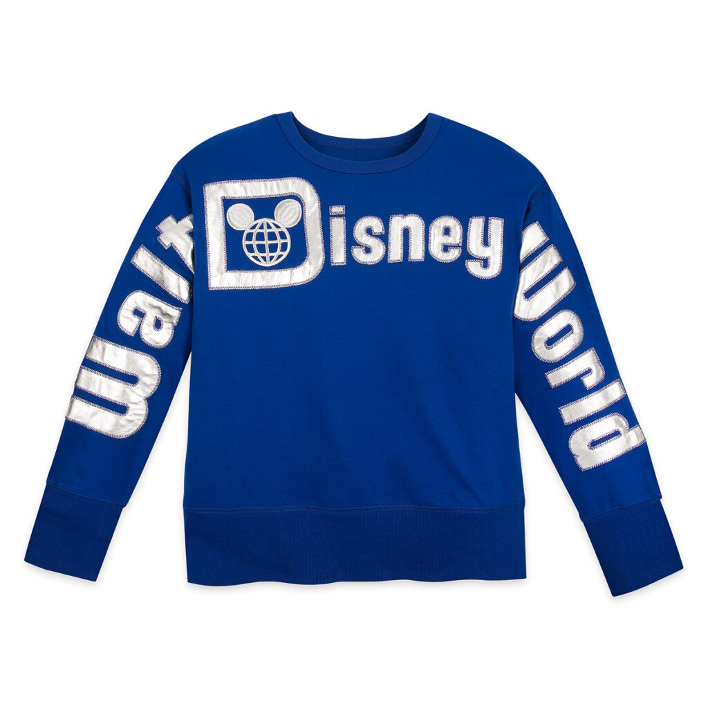 Walt Disney World Pullover Top For Women – Wishes Come True Blue