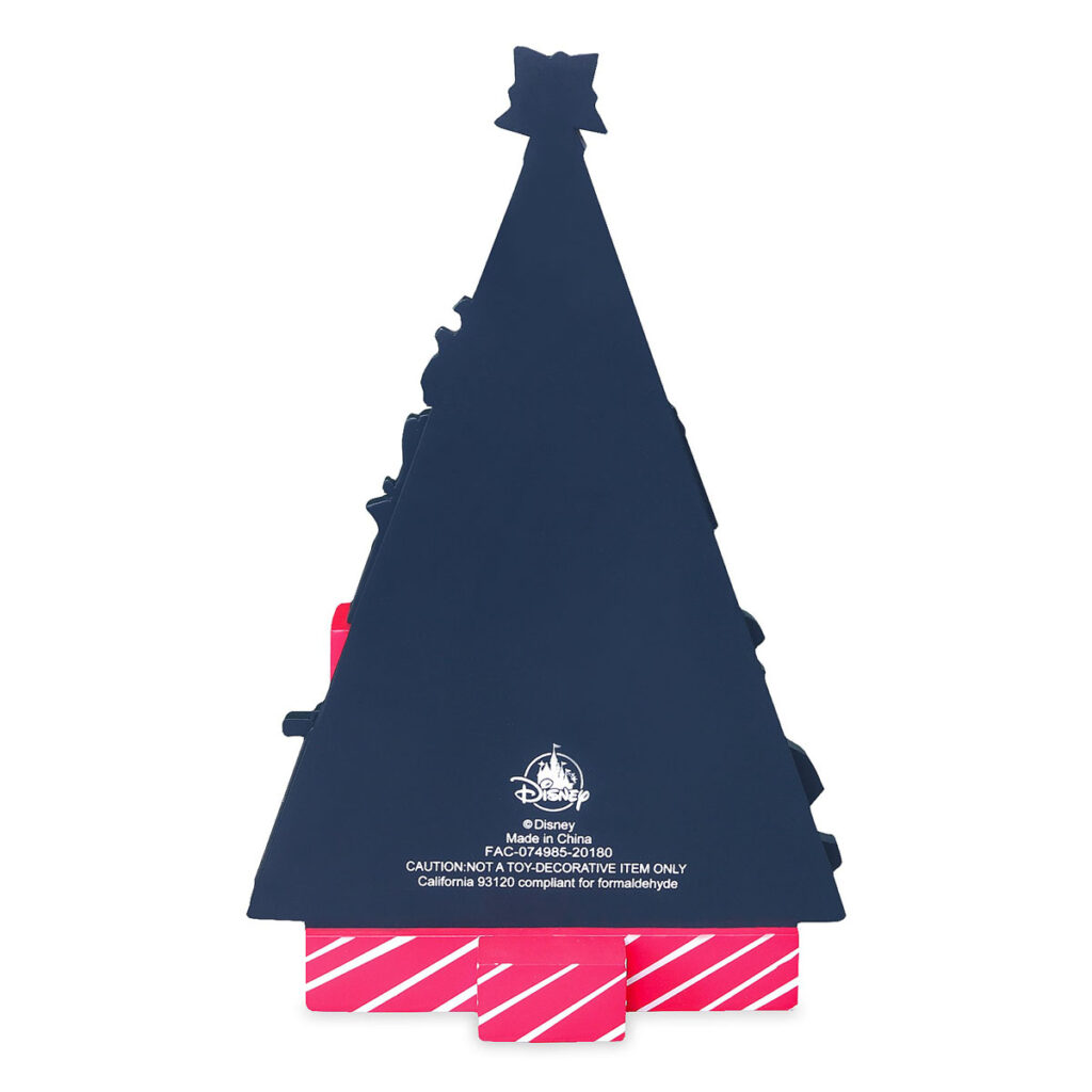 DCL Countdown Christmas Wooden Holiday Tree 4