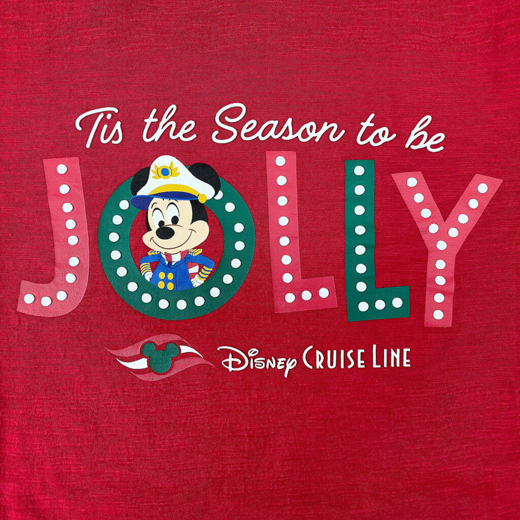 DCL Holiday Shirt Adult Front Graphic