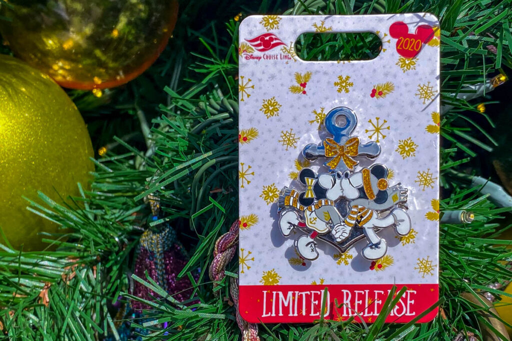 DCL Very MerryTime 2020 Pin Princess Frog Tree