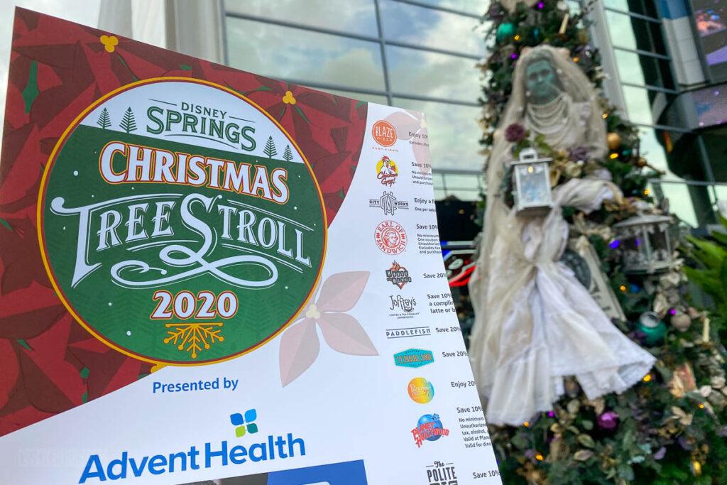 Disney Springs Christmas Tree Stoll 2020