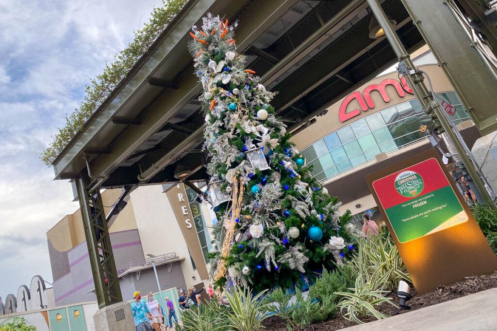 Disney Springs Christmas Tree Stoll 2020 Frozen